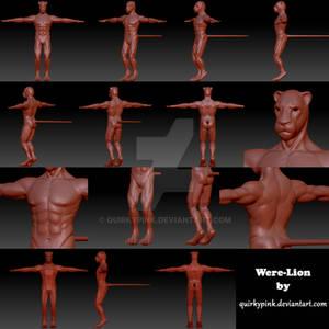 Were-Lion Sculpt