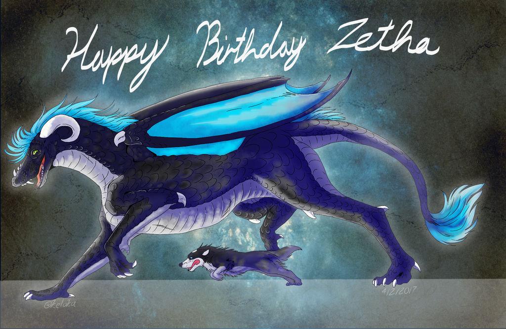 Happy birthday Zetha!