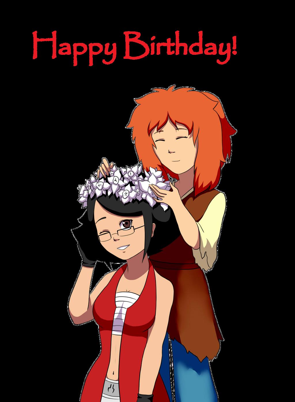 Happy birthday by Jenny-626