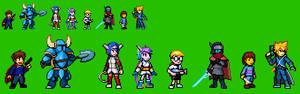 Indie Games Characters Sprites (Part 1)