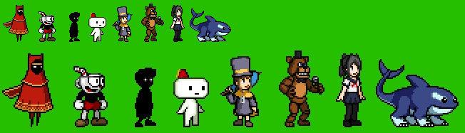 Indie Games Characters Sprites (Part 4)