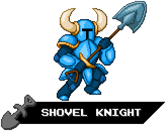 Indie Fighters - Shovel Knight by KentoBalisto