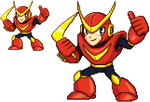 Megaman - Quickman by KentoBalisto