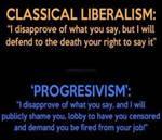 Classical liberalism vs Progressivism