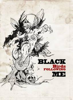 Black Birds Following Me ...