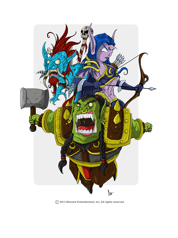 World of Warcraft Tribute by adhytcadelic