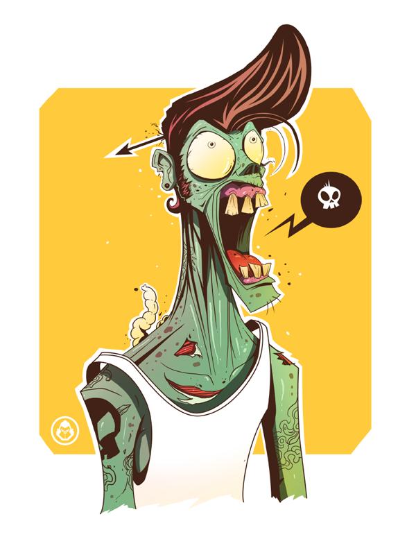 Zombie by adhytcadelic