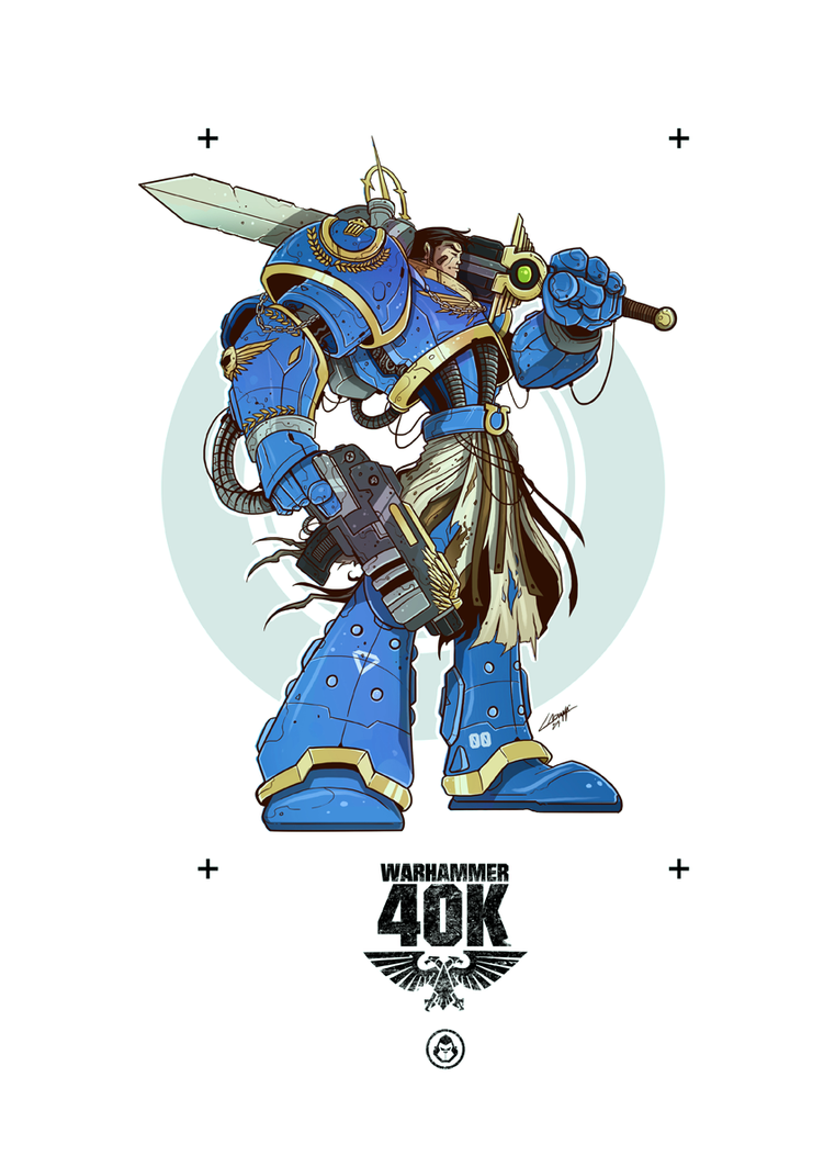 Warhammer 40K by adhytcadelic