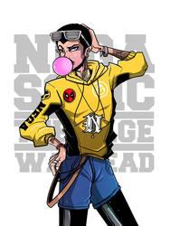 Negasonic Teenage Warhead by adhytcadelic