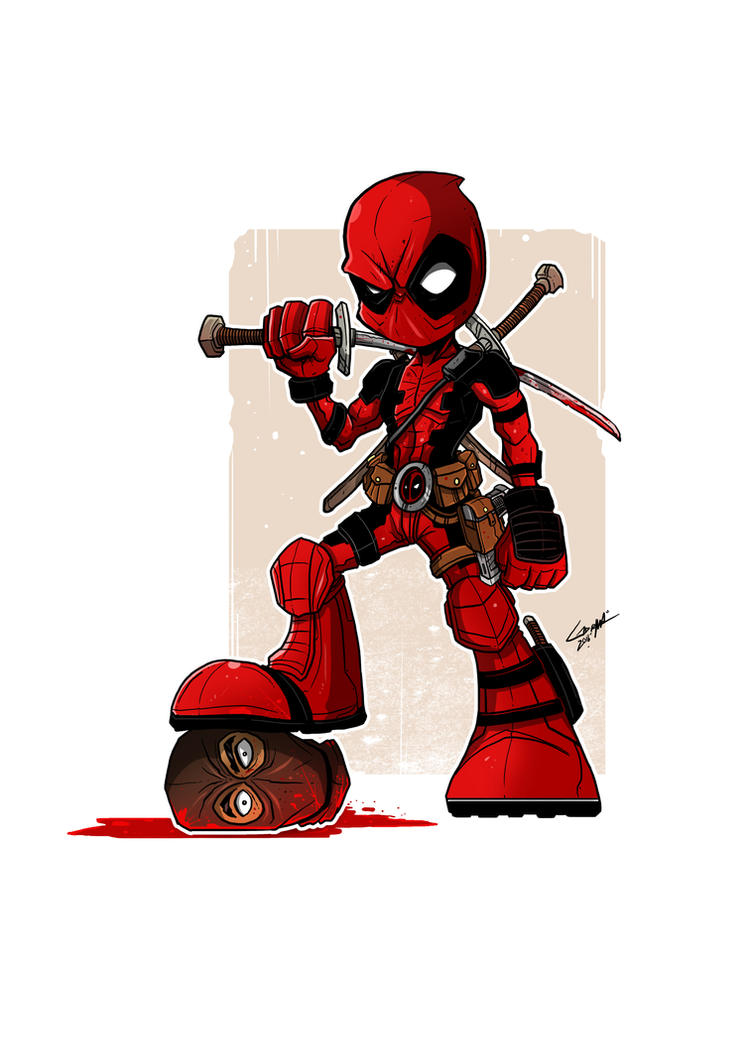 Captain Deadpool by adhytcadelic