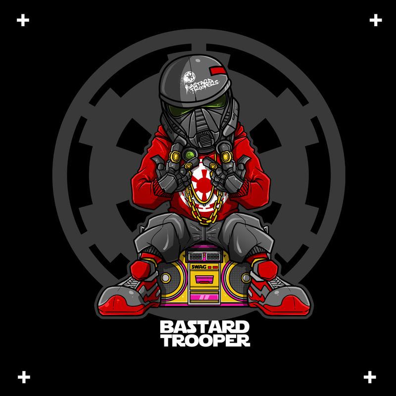 Bastard trooper by adhytcadelic