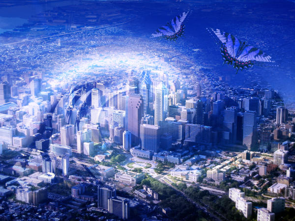 Blue City by Bodhichita