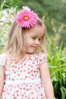 little girl in the garden by Bodhichita