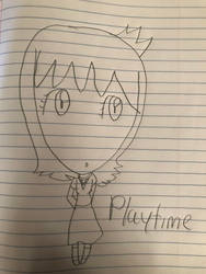 Playtime wearing my dress (color coming soon) by AqoursLovelive