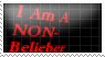 "I am a Non ""Bieliber"" Stamp by Kiwi513"