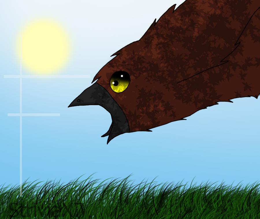 A Bird Screeches by StriviaX7