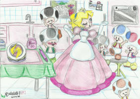 Making a special cake by vivuz