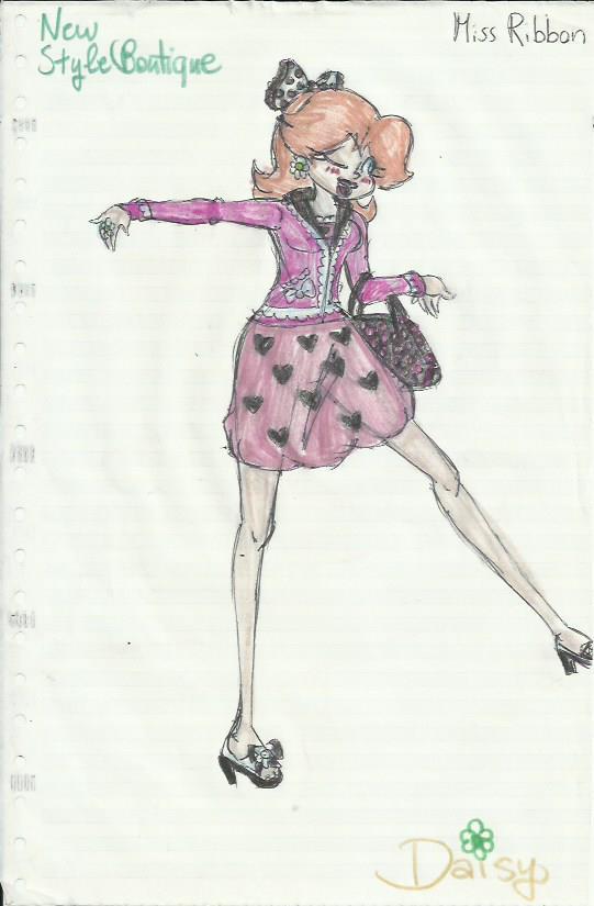 Daisy - Miss Ribbon by vivuz