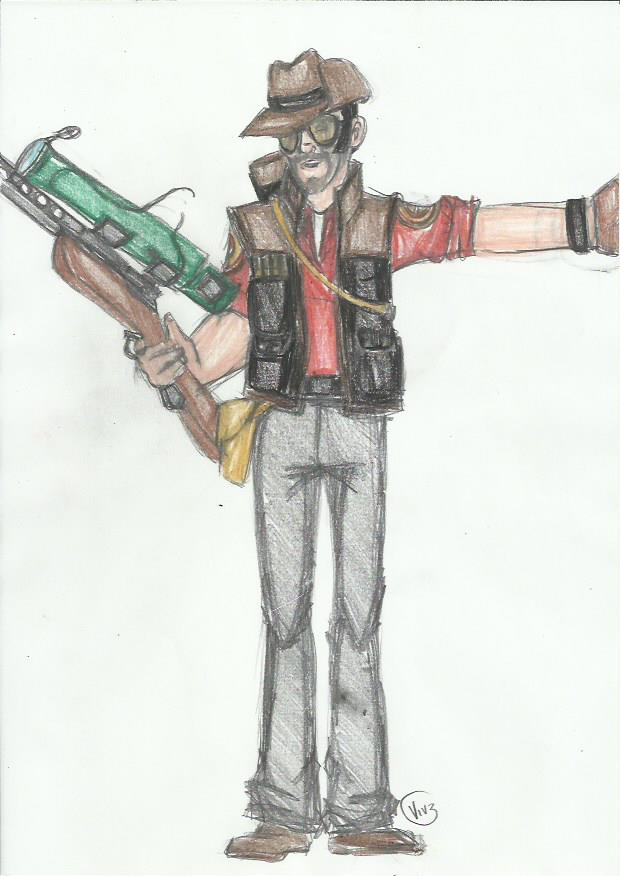 TF2 Class Practice: Sniper by vivuz