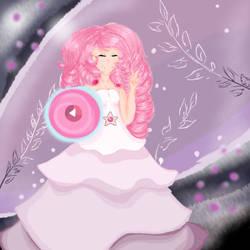 Steven Universe:Rose Quartz by Lizog