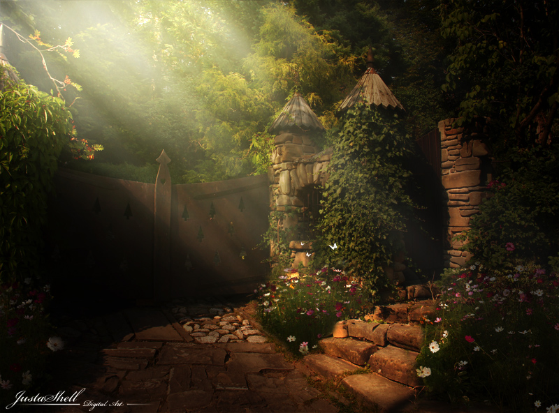 Secret garden by JustaShell79