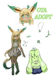[CLOSED OTA] Leafeon Gijinka by kylakittycat
