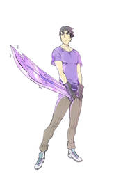 Rune Blaze and Titan Sword by Stardust00