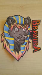 Pharao Bravura by MrMyOwnArt