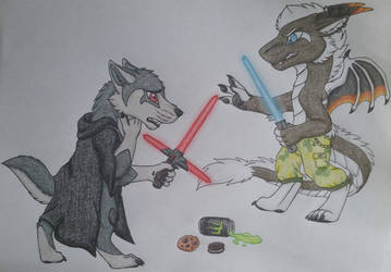 May the 4th be with you by MrMyOwnArt