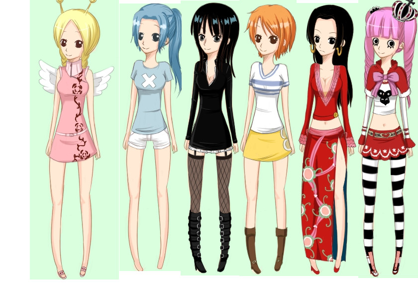 Anime Characters One Piece : One piece characters by sailormooncrazyanime on deviantart