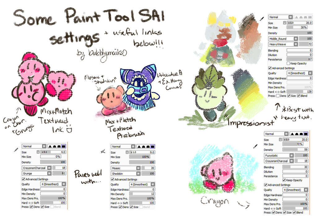 Acrylic Brush Paint Tool Sai