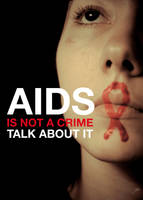 AIDS IS NOT A CRIME by black-eyes