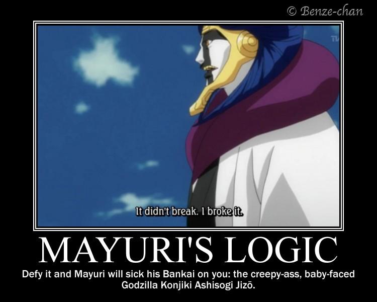 Mayuri's Logic by Benze-chan