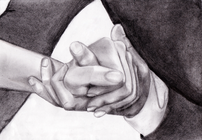 Holding Hand - Helen Nikola by ZouilleTMF