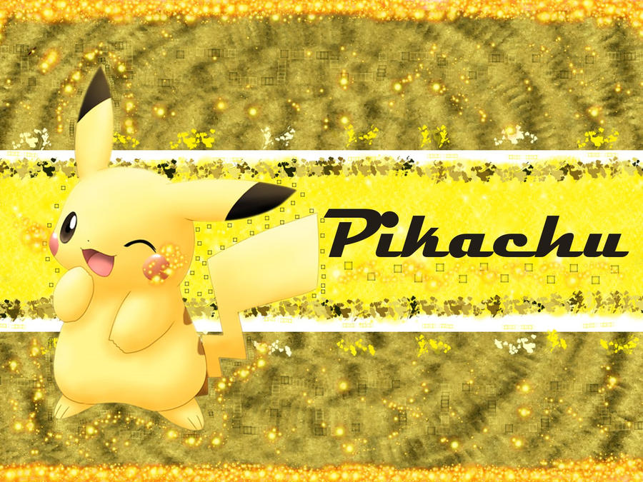 Wallpaper Pikachu Pokemon By Kimi Thunder