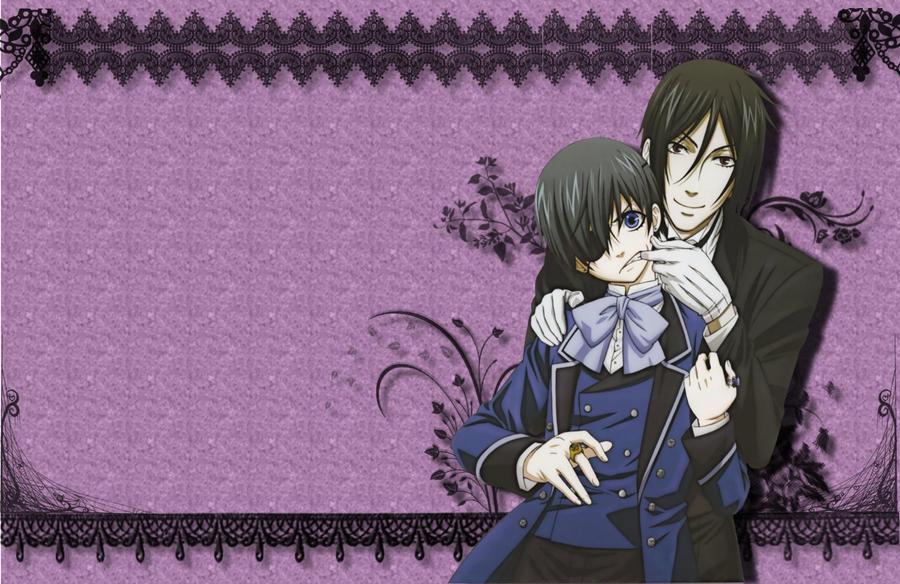 Wallpaper Black Butler Kuroshitsuji By Kimi Thunder