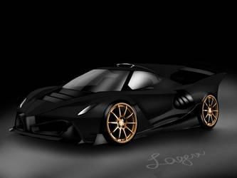 Ferrari LaFerrari 2025 Carbon Fibre  by patricklagera