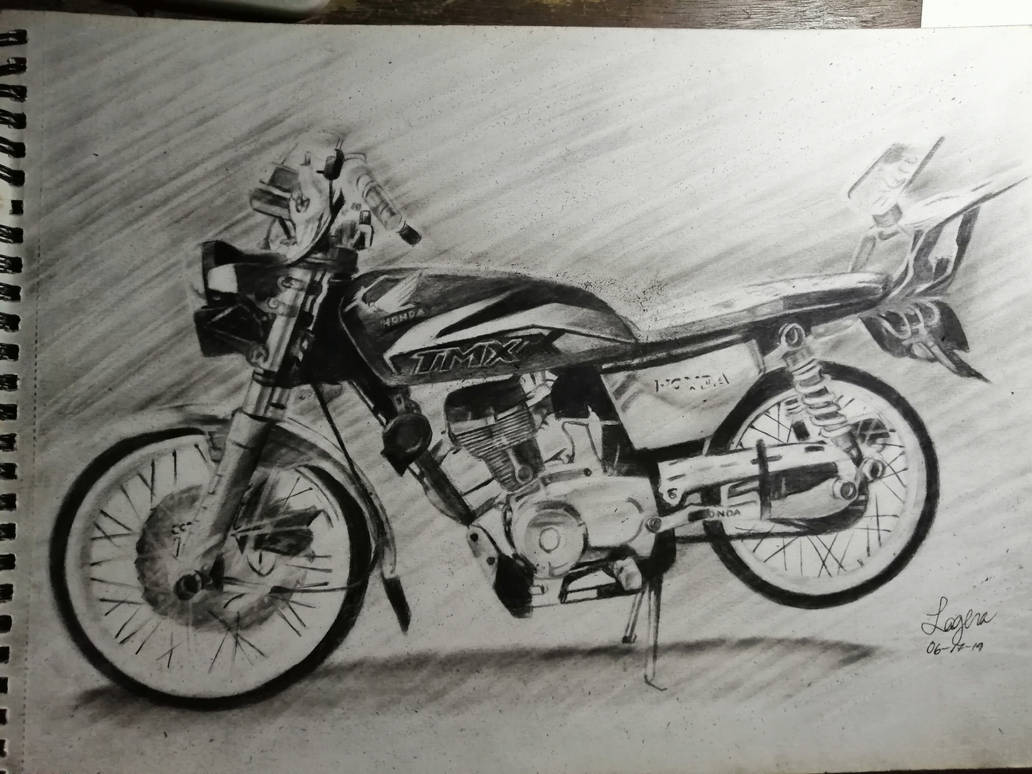 motorcycle  by patricklagera