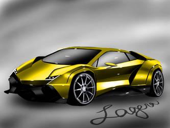 Lamborghini Countach  by patricklagera