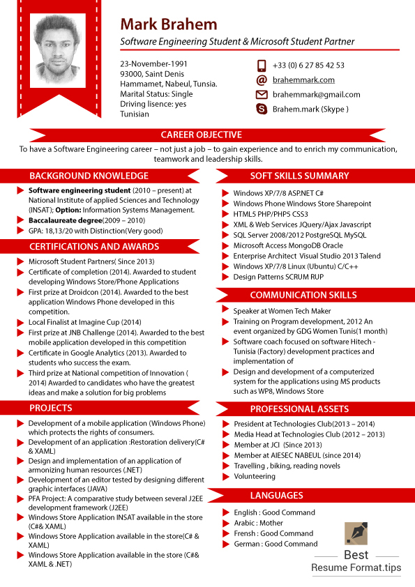 Latest Resume Format 2016 by bestresume85 on DeviantArt