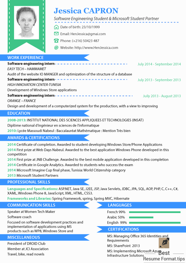 Resume Format 2016 By Bestresume85 On Deviantart