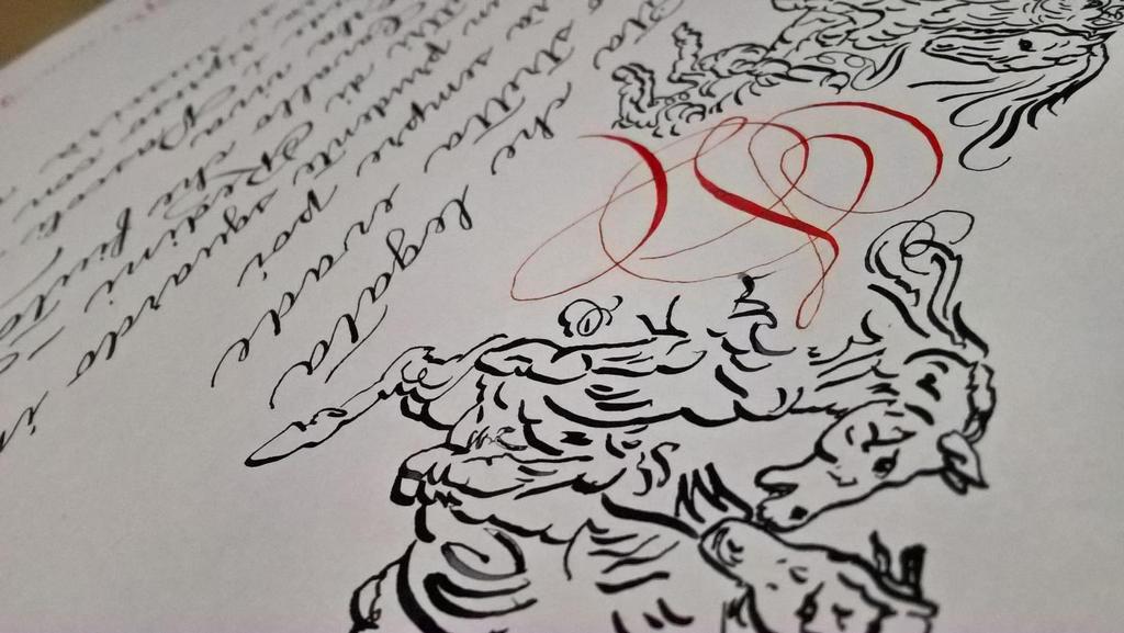 CalligrafiaPerMatrimonio01 by DeRupe