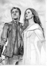 Richard and Kahlan by Wolf-19