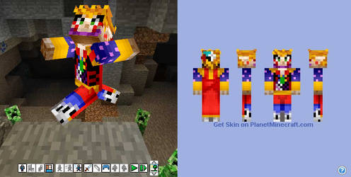 Kefka (minecraft) by Yori14
