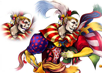 Kefka Without Makeup by Yori14