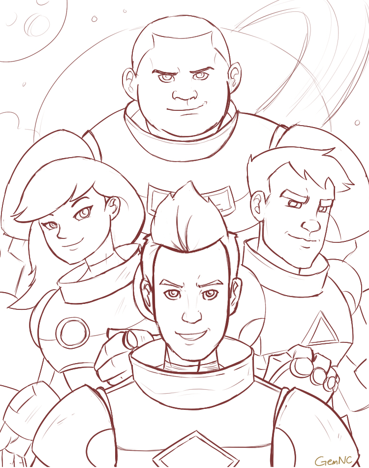 Bravest Warriors by vitamingem