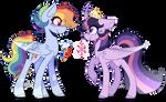 Twilight Sparkle and Rainbow Dash Headcanons
