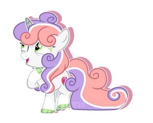 [HC] Sweetie Belle REFERENCE by FoxySparkle