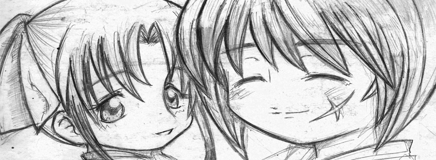 lovely couple: Kenshin and Kaoru by MBMHimura