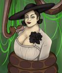 Hypnotized Lady Dimitrescu